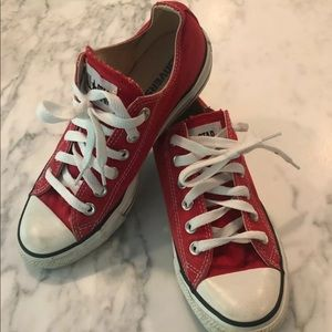 Converse All Star Chuck Taylor Red sneaker Shoes 7